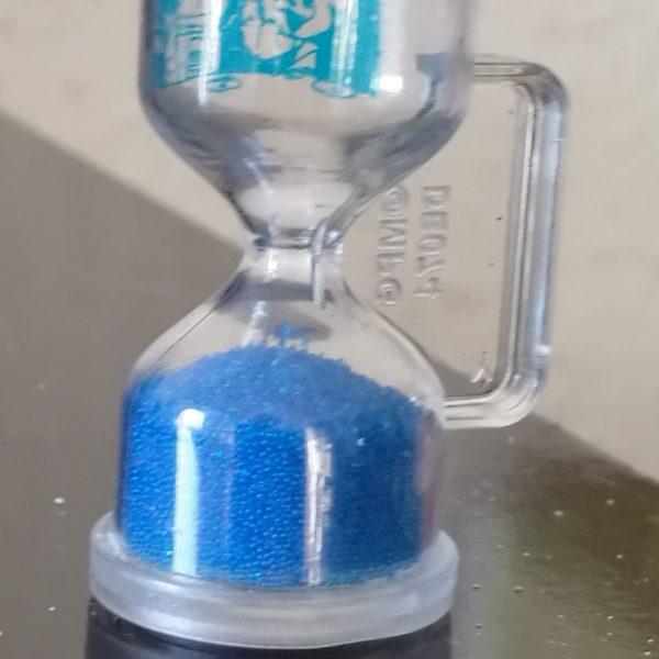 Hourglass 127, blue, micro