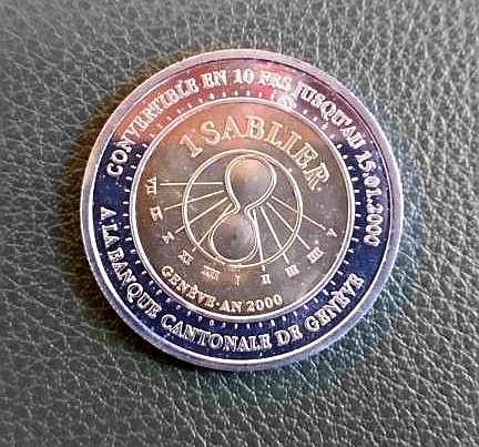Hourglass 158, Sablier République et Canton de Genève
