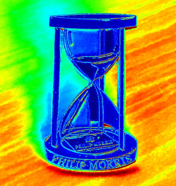 Philip Morris hourglass